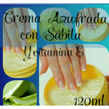 Cremas Azufradas Con Aloe Vera Y Vitamina E 120 Ml....