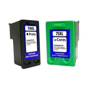 Kit 2 Cartuchos Compatível 74xl E 75xl D4260,d4280,d4360