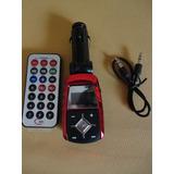 Modulador Stereo Fm/usb/sd/micro Sd/ Auxiliar Y C/remoto