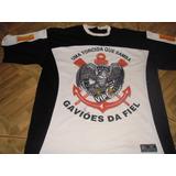 Camisa Do Corinthians Gaviões Da Fiel Carnaval 450 Anos 2004