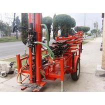 Maquina Perforadora De Pozos Hasta 120mts Cualquier Terreno
