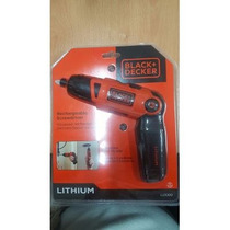 Desarmador Electrico Recargable Black & Decker Li2000 Dgv