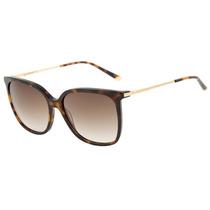 Ana Hickmann Ah 9235 - Óculos De Sol G21 Marrom Mesclado E