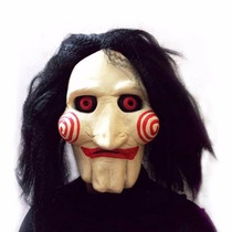 Mascara Borracha Latex Filme Jogos Mortais Jigsaw Fantasia