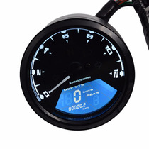 Painel Digital Universal Moto Café Racer Custom