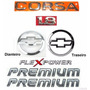 Kit Emblemas Corsa Sedan 1.8 Flexpower Premium - 2003 À 2007