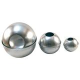 Molde De Aluminio Fanal Esfera 8 Cm Para Fabricar Velas