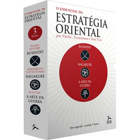 Box Essencial Da Estratégia Oriental 3 Livros Frete 13 Reais