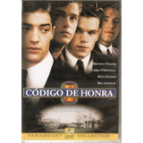 Dvd Código De Honra - Matt Damon/ Brendan Fraser - Novo***