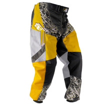 Calça Motocross Amarela Pro Tork Insane Infantil Criança