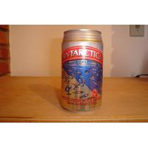Lata Cerveja Antarctica Nesse Calor Você Merece - Vazia