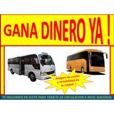 Solicitamos Buses ,minibus Y Custer ,socio Coasters Bus Lima