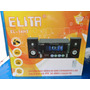 Sistema Multimídia De Som Tela Led Usb Fm Elita El-14ht