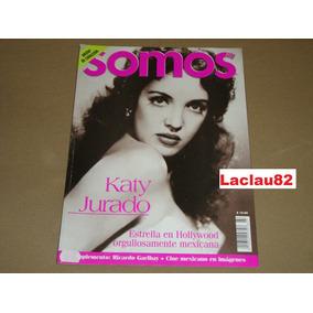 Katy Jurado Estrella En Hollywood Revista Somos Julio 1999
