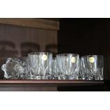 13 Vasos Whisky Marca Francesa Francia Cristal D´arques