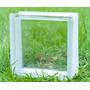 Ladrillos De Vidrio Liso 19x19x8 Cm - Envíos Y Entregas-