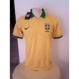 Camisa Oficial Da Seleção Brasileira Copa 2014 / Nova