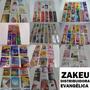 Kit Lote Cartões E Marca Páginas Evangélicos Gospel Bíblicos