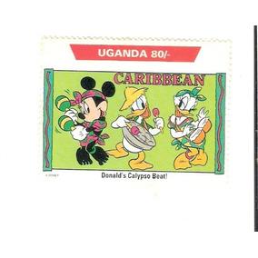 Lindo Selo De Uganda - Disney - Pato Donald - Vejam A Foto !