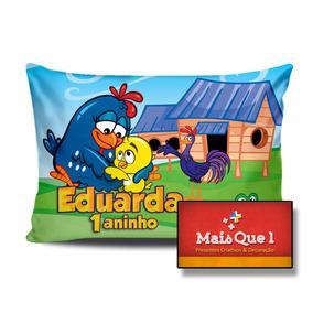 Almofada Personalizada 20x30 Galinha Pintadinha