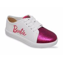 Tênis Infantil Barbie Glitter 21585
