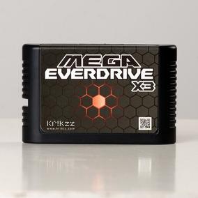 Cartucho Mega Everdrive X3 Krikzz Original Para Mega Drive