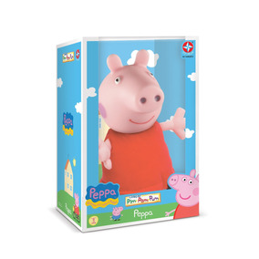 Boneca Peppa Pig Cabeça De Vinil Estrela