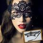 3 Máscaras De Renda Preta Para Baile. Pronta Entrega