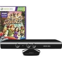 Kinect Sensor Xbox 360 Sensor Original + Jogo Adventures