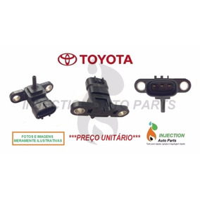 Sensor Map Pressão Turbo Turbina Toyota Hilux Sw4 2005à2010