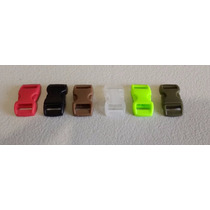 Mini Broche Plastico Para Pulsera Paracord Lote 10 Pzas.