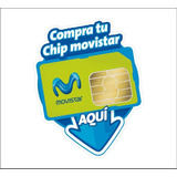 Chip Simcard Linea Movistar Plan Economico