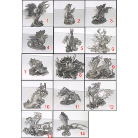 Dragão Dragões Criaturas Fantásticas Miniatura Chumbo Avulsa