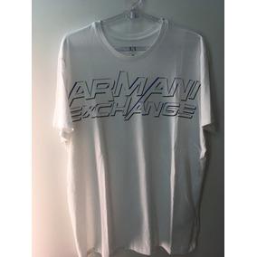 Camiseta Tshirt Armani Exchange Masculina Original Xgg Xxl