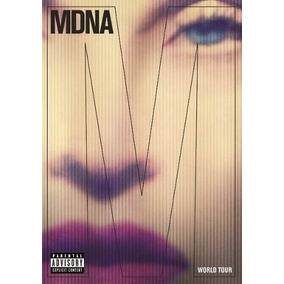 Mdna Madonna Dvd + 2 Cds World Tour Lacrado Original Deluxe