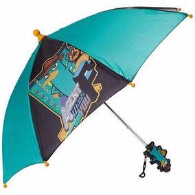 Sombrilla Paraguas Disney Perry Phineas & Ferb Para Niños