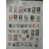 62.- Timbres Postales 1940 A 1955