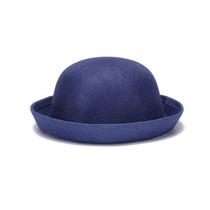 Nuevo Sombrero Gorro Azul Retro Vintage Mujer Malla Moda