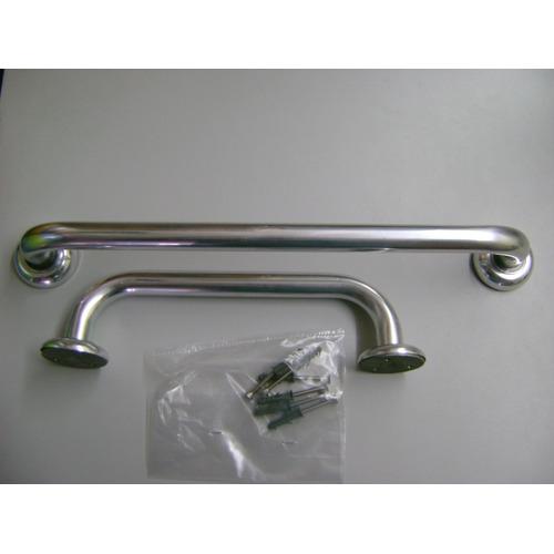 Kit 3 Barras De Apoio Aluminio 30/40/80 C Idosos Deficientes