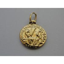 Pingente / Medalha De Ouro 18k - Imagem De São Bento