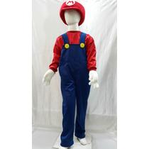 Disfraz Inspirado En Mario Bros Y Luigi Con Gorro
