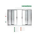 Veneziana D Alum Folhas Sem Grade 1,20 X 2 Direto Da Fabrica