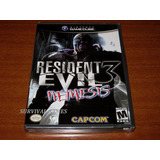 Resident Evil 3 Nemesis ( Nuevo Sellado) - Nintendo Gamecube
