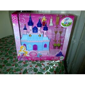 Castillo De Princesa Royal Con Figuras Luces Y Sonido