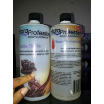 Keratina Chocolate Hidra Professional 400ml + Su Shampoo