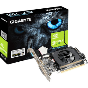 Placa De Video Gigabyte Gt 710 2gb Ddr3 64bits Low Profile