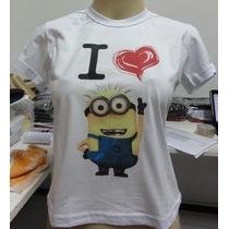 Baby Look I Love Minions