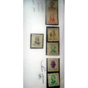 Serie Completa - C-519/525 - Vultos Celebres Mint