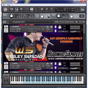 Kit Kontakt Yamaha Wesley Safadão E Garota Safada 2016