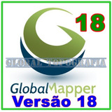 Global Mapper 18 + Módulo Lidar + Manual #!#
